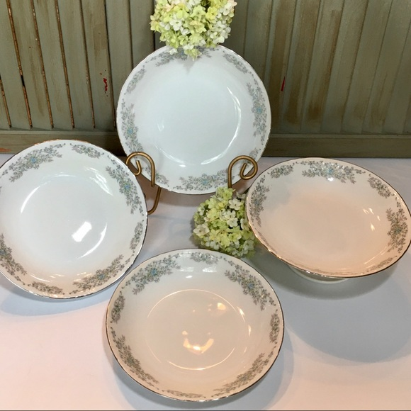 Vintage Other - Norleans China Theresa Coupe Soup Bowl Set of 4
